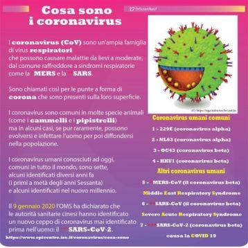Poster del SARS-CoV-2